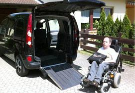 Renault Kangoo (Heckeinstieg PARAVAN)