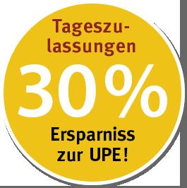 30 Prozent zur UPE