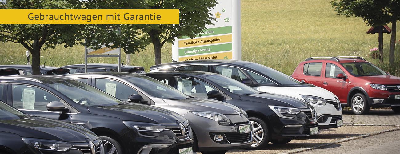 Gebrauchtwagen mit Garantie Bamberg