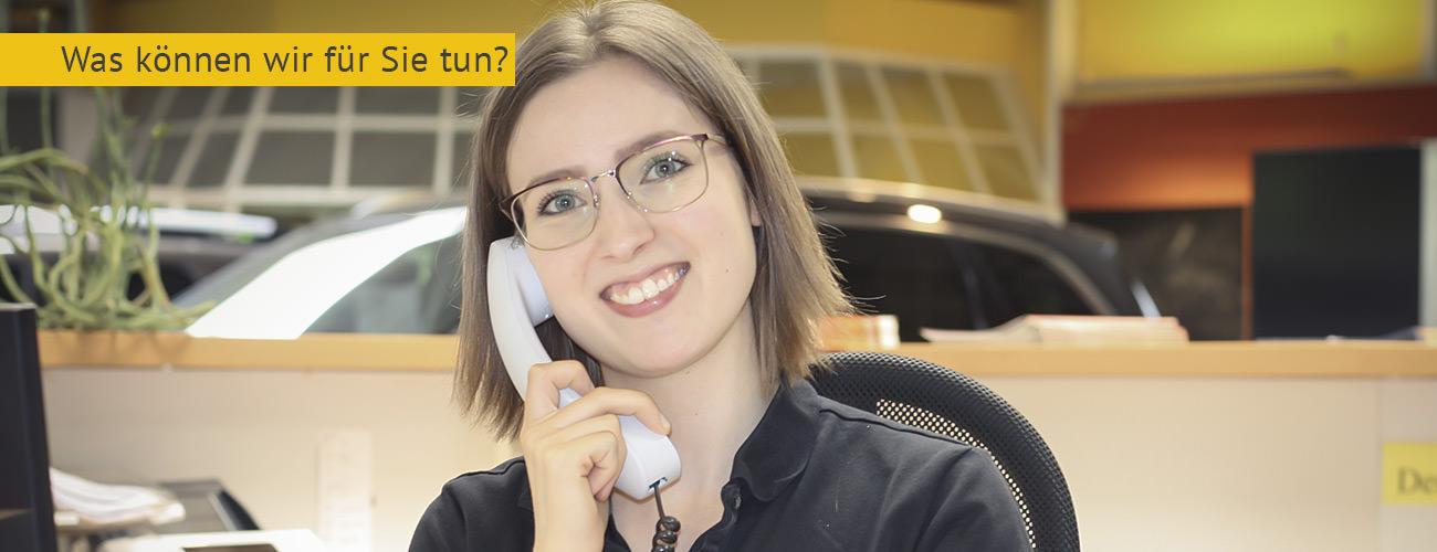 Kontakt Empfang