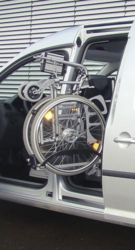 Rollstuhlverladesysteme seitlich