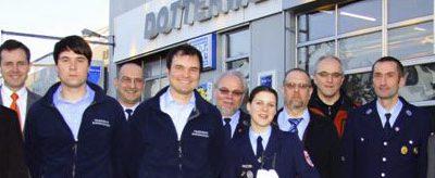 """2011  """"First Responder Team"""" der freiwilligen Feuerwehr Burgwindheim"""