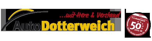 Logo Auto Dotterweich | 50 Jahre Auto Dotterweich & Renault Partner
