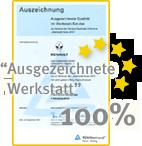 Werkstatt Auszeichnung TÜV